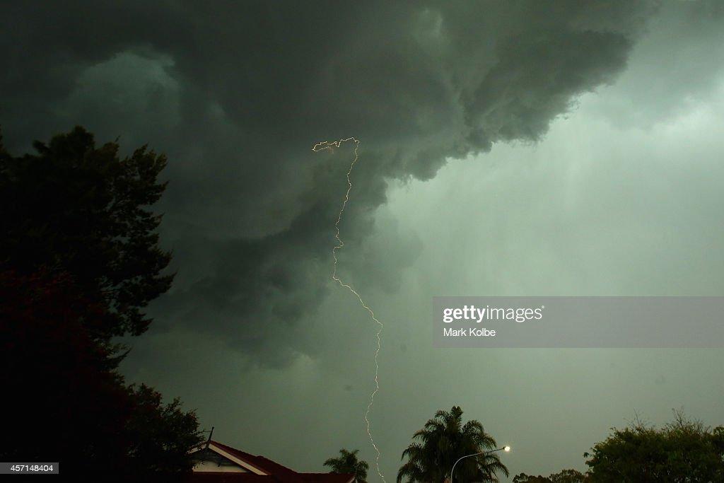 Severe Storm hits Sydney : News Photo