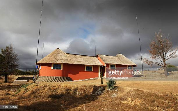 General view is seen of the LCCU on July 9, 2008 in Maseru, Lesotho. Prince Harry and 26 soldiers from the Household Cavalry are in Lesotho working...