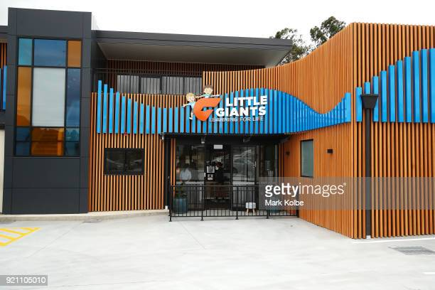 A general view is seen of the Little GIANTS Learning Centre before a Greater Western Sydney Giants AFL media opportunity to launch their ÔLittle...