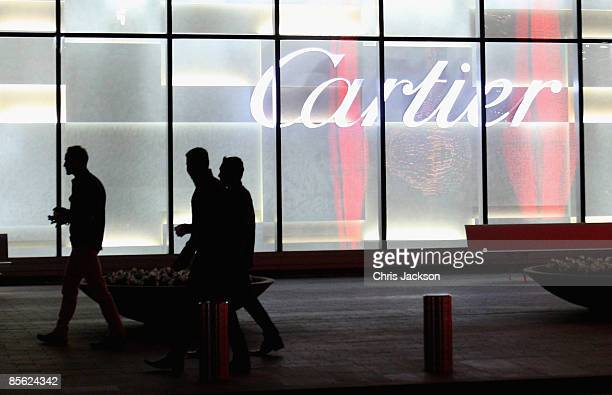 A general view is seen of the new Cartier Boutique at Dubai Mall on March 26 2009 in Dubai United Arab Emirates Today Cartier officially inaugurated...