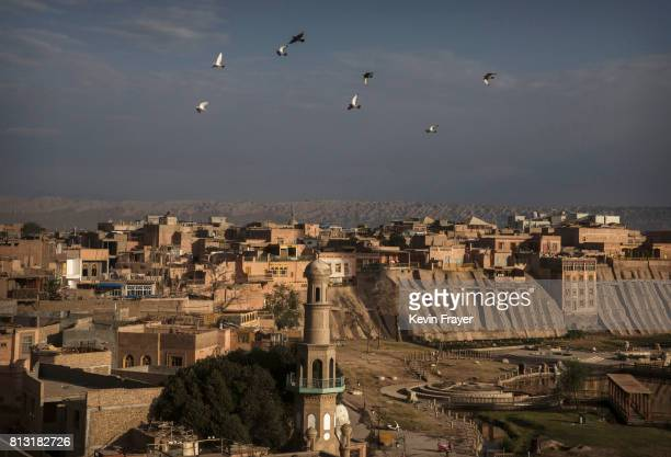 A general view is seen on June 27 2017of the old town of Kashgar in the far western Xinjiang province China Kashgar has long been considered the...