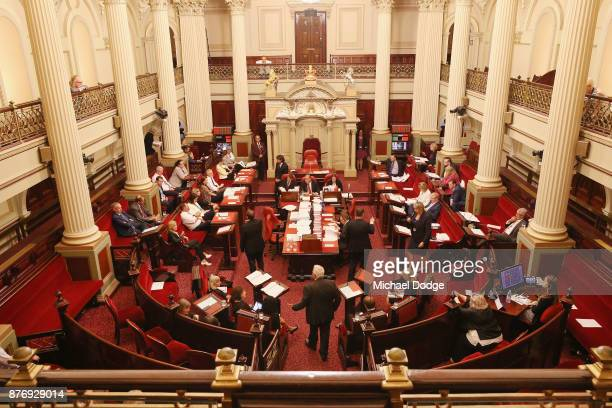 A general view is seen on November 21 2017 in Melbourne Australia Victoria's lower house passed the historic voluntary euthanasia laws on Friday 20...