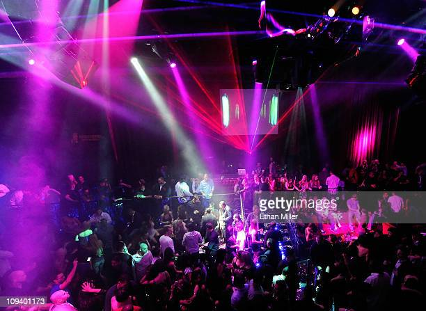 A general view is shown as DJ and producer Sharam debuts his exclusive monthly residency Destination Sharam at the LAX Nightclub at the Luxor Resort...