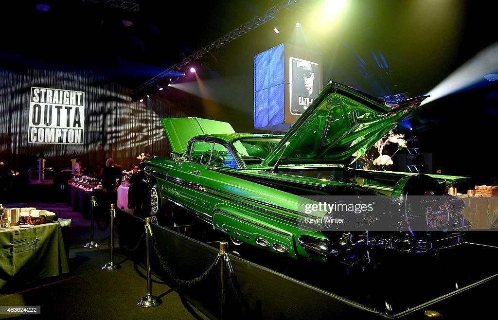 A general view is shown at the after party for the premiere of Universal Pictures and Legendary Pictures' 'Straight Outta Compton' at the Microsoft Theatre on August 10, 2015 in Los Angeles, California.