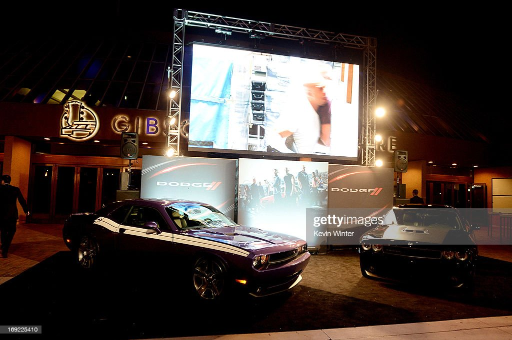 A general view is shown at the after party for the premiere of Universal Pictures' 'Fast & Furious 6' at the Gibson Amphitheatre on May 21, 2013 in Universal City, California.