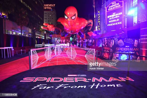 A general view is shown at the after party for the premiere of Sony Pictures' SpiderMan Far From Home on June 26 2019 in Hollywood California
