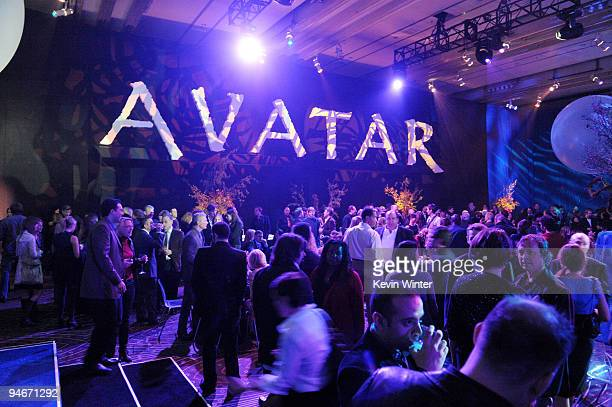 A general view is shown at the afterparty for the premiere of 20th Century Fox's 'Avatar' at Hollywood and Highland on December 16 2009 in Los...