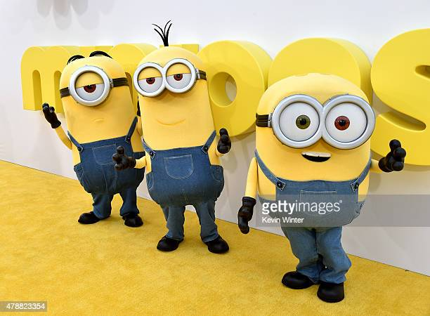 A general view is shown at the premiere of Universal Pictures and Illumination Entertainment's 'Minions' at the Shrine Auditorium on June 27 2015 in...