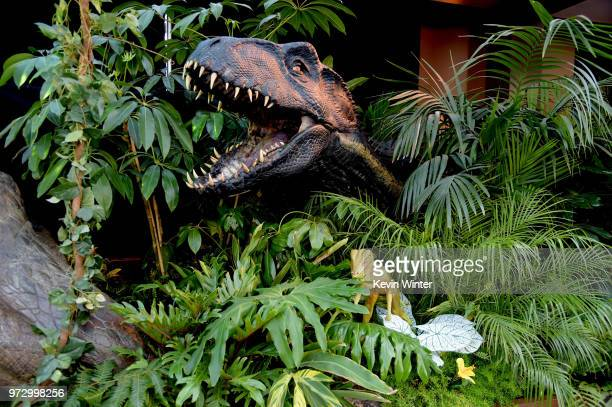 A general view is shown at the premiere of Universal Pictures and Amblin Entertainment's Jurassic World Fallen Kingdom at the Walt Disney Concert...