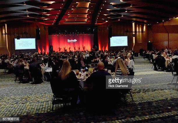 General view Nashville's National Tourism Week Hospitality Celebration at Music City Center on May 3 2016 in Nashville Tennessee