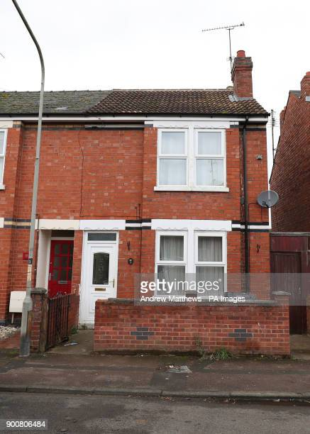 A general view of 16 Calton Road Gloucester the home of taxi driver Amo Riselli who won pound24283 in the Lotto draw last Wednesday