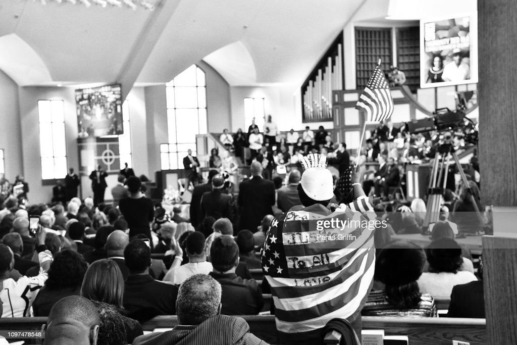 2019 Martin Luther King, Jr. Annual Commemorative Service & Parade : News Photo
