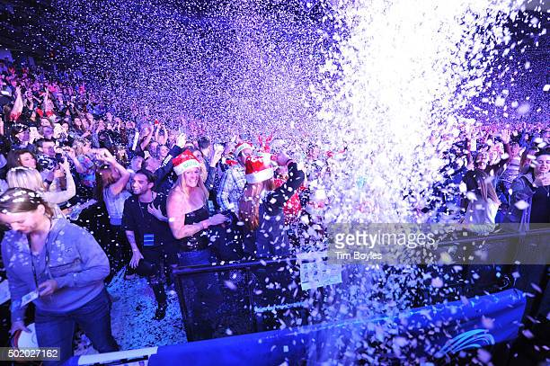 General view of 93.3 FLZ's Jingle Ball 2015 Presented by Capital One at Amalie Arena on December 19, 2015 in Tampa Bay, Fla.