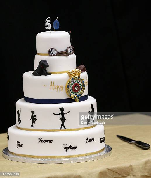 50th Birthday Cake Images Stock Photos And Pictures Getty Images