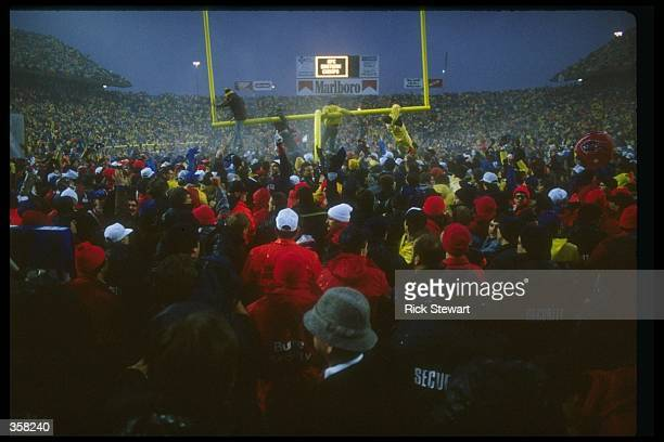 General view of a Buffalo Bills game at Rich Stadium in Orchard Park New York Mandatory Credit Rick Stewart /Allsport