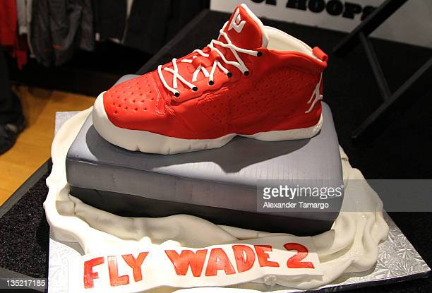 cheap for discount ec821 383e1 General view of a cake design of the new Fly Wade 2 Dwyane Wade Jordan Brand