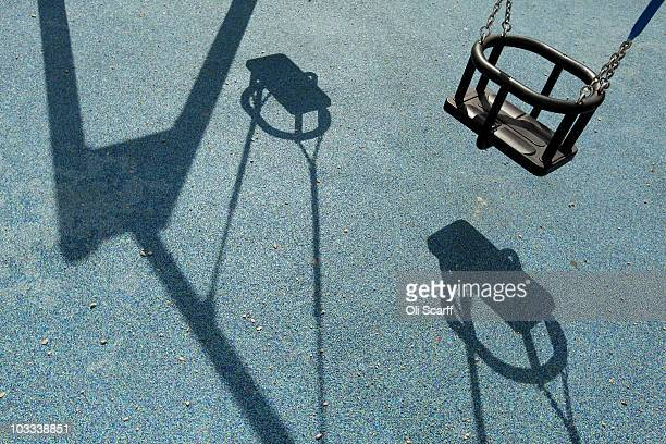A general view of a community playground situated on a housing estate in Fulham on August 11 2010 in London England Michael Gove the Secretary of...