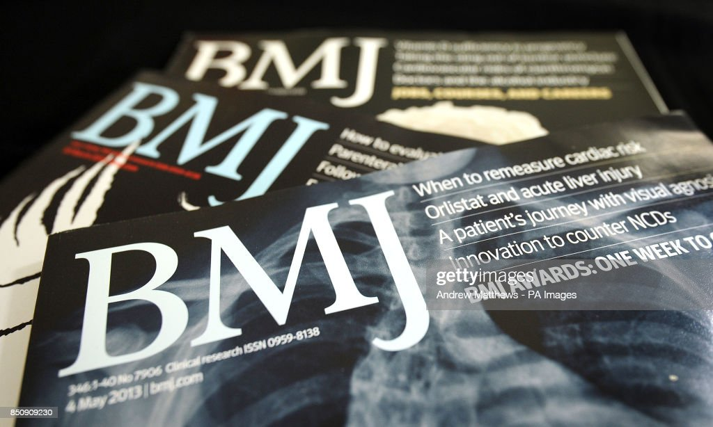 General view of a copy of the British Medical Journal, or
