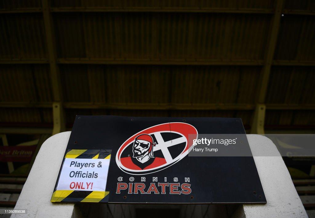 Cornish Pirates v London Irish - Greene King IPA Championship : News Photo