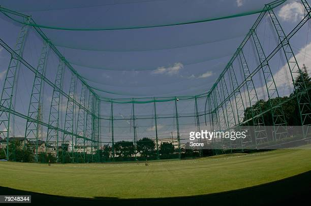 general view of a golf range - ゴルフ練習場 ストックフォトと画像