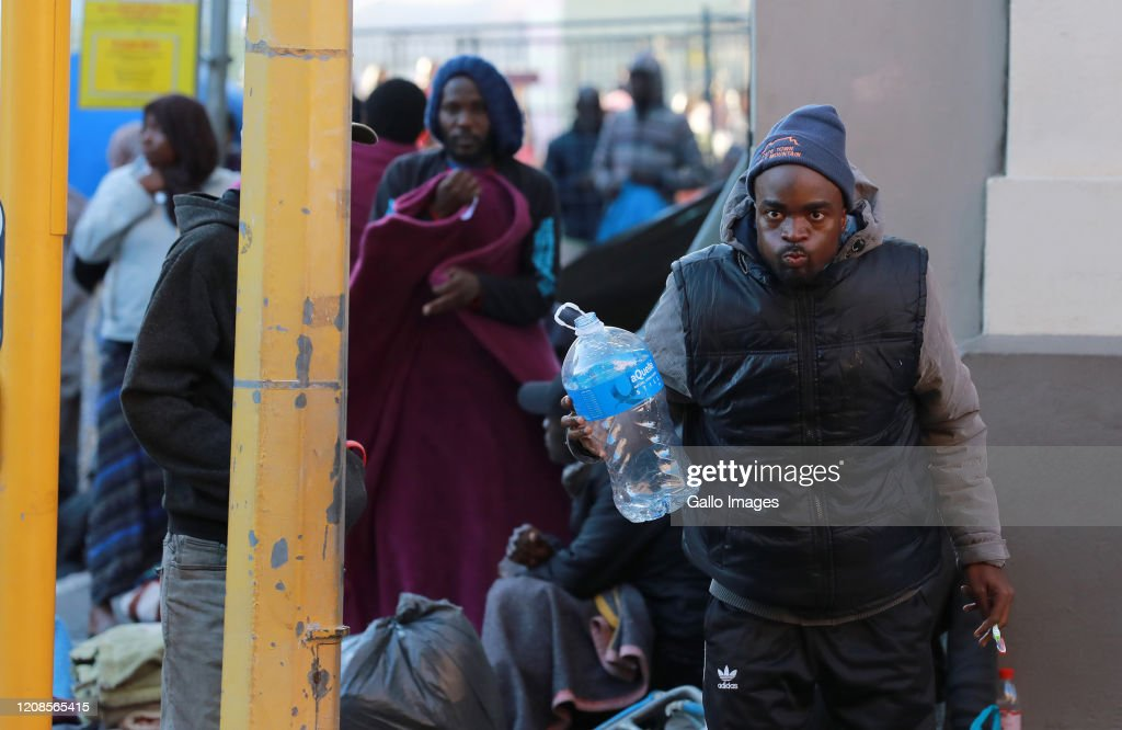 Refugees plead with the City of Cape Town to provide shelters during lockdown in South Africa : News Photo