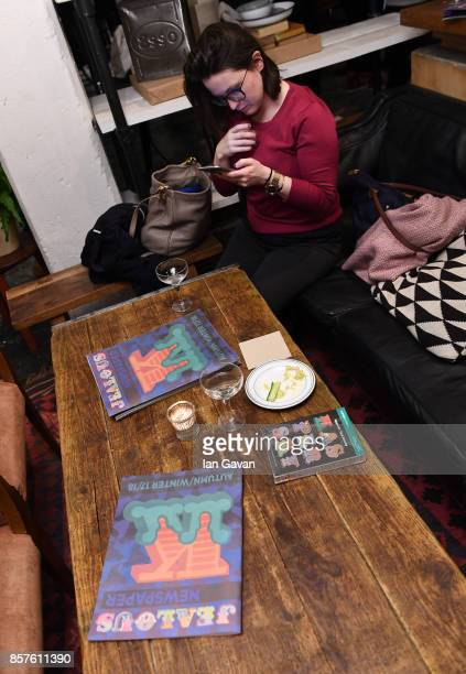 A general view of a guest at the launch of the ad campaign film 'Back To Work' sealing the artistic collaboration between Kaspersky Lab and Ben Eine...