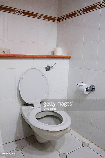 A general view of a guest bathroom at the Pegasus Hotel in Jamaica where Pakistan Coach Bob Woolmer was found dead a week ago March 27 2007 in...