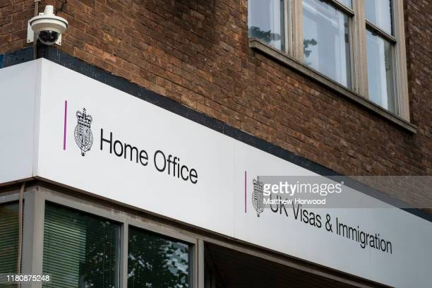 General view of a Home Office visa and immigration centre on October 12, 2019 in Cardiff, United Kingdom.