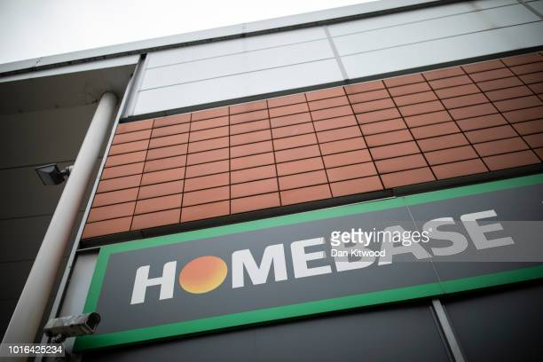 A general view of a Homebase store in Harringay on August 14 2018 in London England The home and garden retailer has announced it is to close 42...
