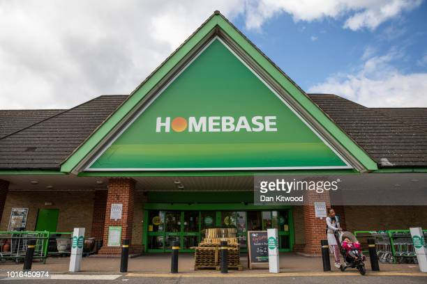 A general view of a Homebase store in North Finchley on August 14 2018 in London England The home and garden retailer has announced it is to close 42...