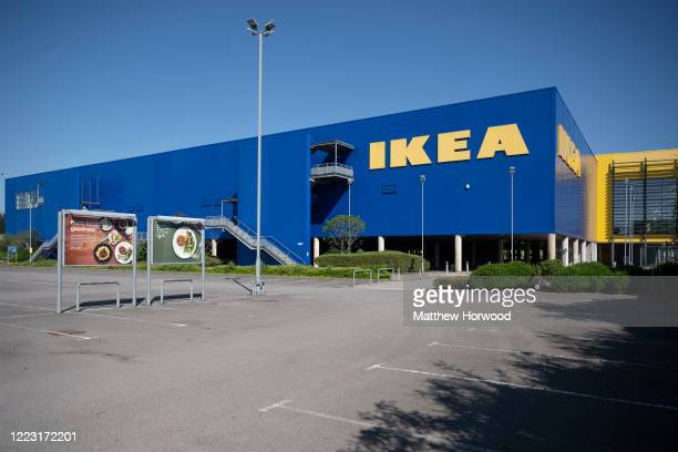 General view of a IKEA store on May 6, 2020 in Cardiff, United Kingdom. It has been reported that the Swedish retail chain IKEA will reopen its UK...