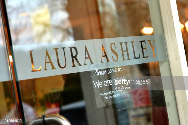 A general view of a Laura Ashley home store on March 17 2020 in Amersham United Kingdom The fashion chain Laura Ashley has filed for administration...