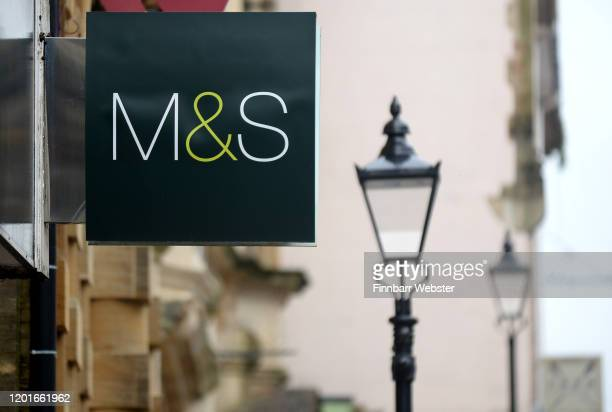 A general view of a Marks and Spencer store on January 24 2020 in Dorchester England Marks and Spencer announces it is to close its Dorchester store...