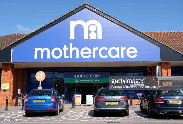 General view of a Mothercare store in Basingstoke Hampshire as it is announced the high street retailer is to close 50 stores and rehire it's former...