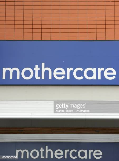 A general view of a Mothercare store in Denton Manchester
