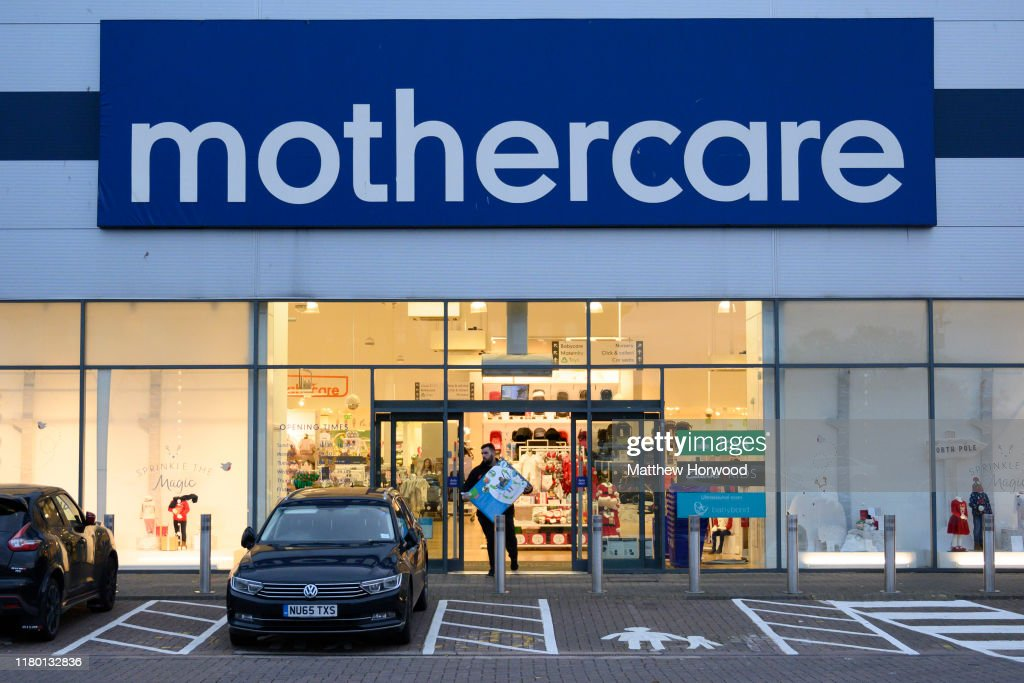 Mothercare Announce Plans To Go Into Administration : Foto jornalística