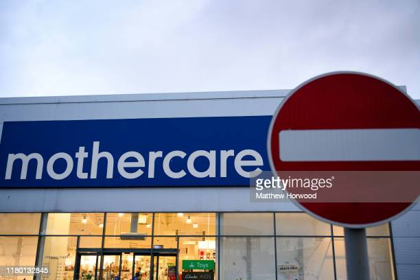 A general view of a Mothercare store on November 5 2019 in Cardiff Wales Mothercare has announced plans to put its UK business into administration...
