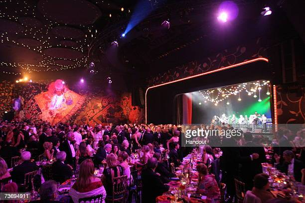 A general view of a performance at the 2007 Monte Carlo Rose Ball at the MonteCarlo Sporting Club on March 24 2007 in Monte Carolo Monaco