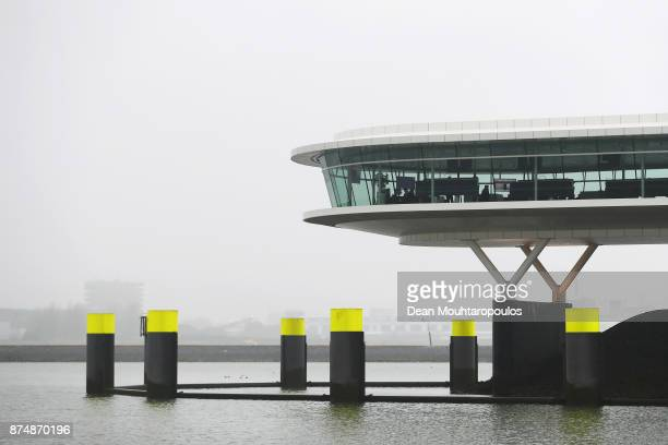 A general view of a Port of Rotterdam office or work space on November 15 2017 in Rotterdam Netherlands This is the largest port in Europe covering...