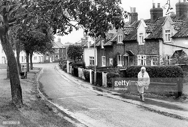 General view of a residential street in Eaglescliffe, County Durham. 2nd September 1970.