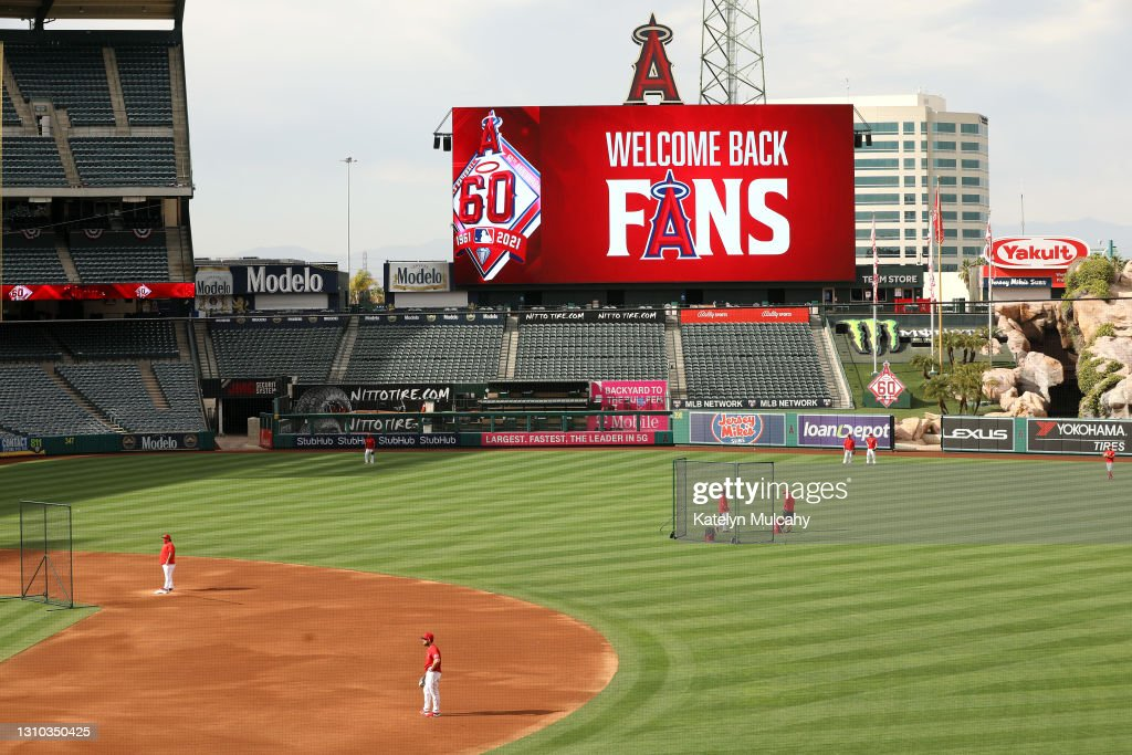 Chicago White Sox v Los Angeles Angels : Foto jornalística