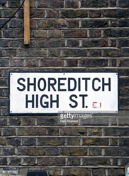 Shoreditch High Street: Shoreditch Stock Photos And Pictures