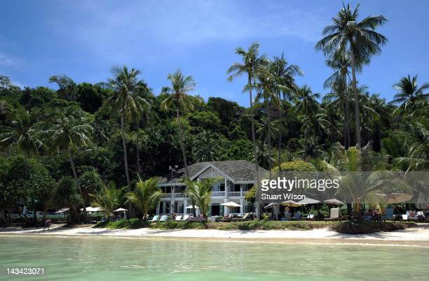 General view of a SinoPortugese Mansion at Cape Panwa Phuket on April 23 2012 in UNSPECIFIED Thailand