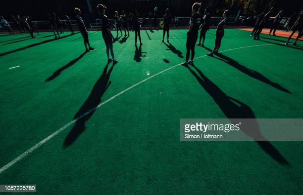 A general view of a sports session during the Laureus Sport for Good Global Summit in partnership with Allianz at INSEP on October 16 2018 in Paris...