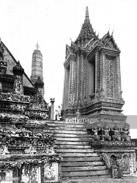 A general view of a Temple in Bangkok Thailand