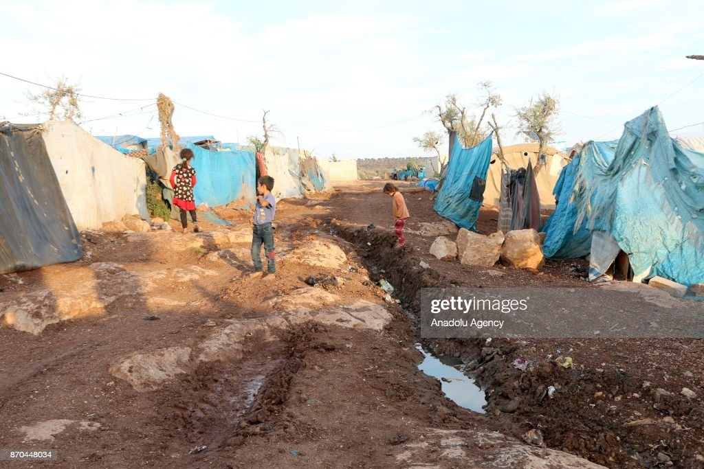Epidemic threat at IDP camps in Syria's Idlib : News Photo