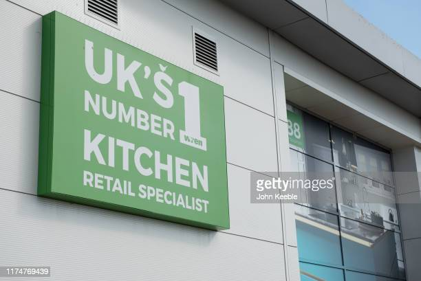 A general view of a Wren kitchens showroom on September 13 2019 in SouthendonSea England
