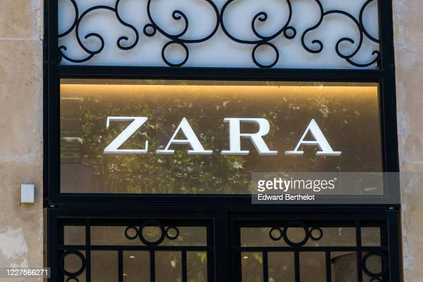 General view of a Zara store which is open on May 28 2020 in Paris France The coronavirus pandemic has spread to many countries across the world...