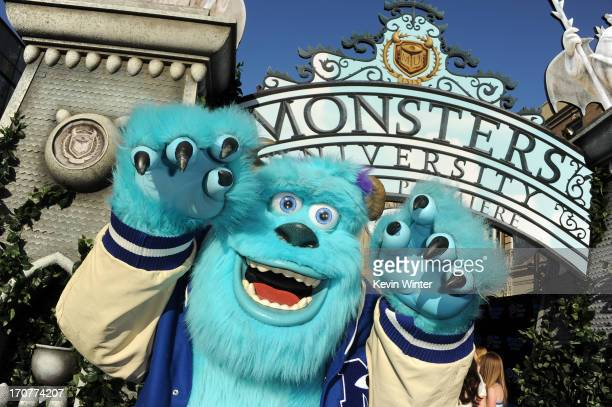 A general view of aatmosphere during the world premiere of Disney Pixar's Monsters University at the El Capitan Theatre on June 17 2013 in Hollywood...