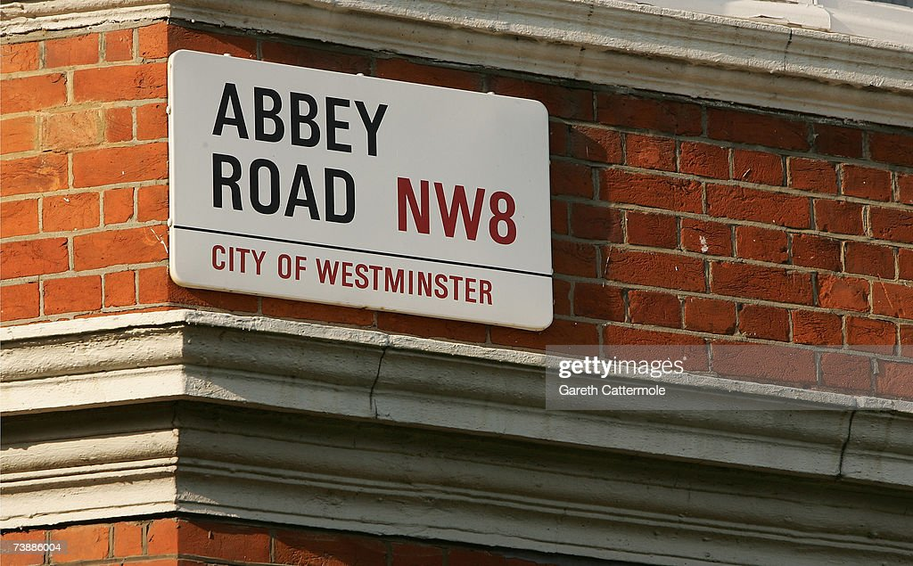 A general view of Abbey Road in North London on April 14, 2007 in London.